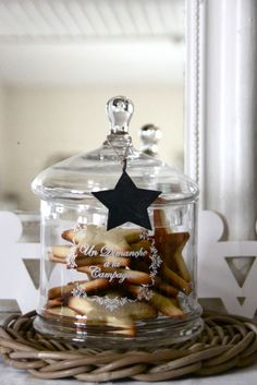 A personalized etched jar with cookies would make a great gift