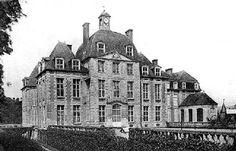 Le Château de Thury Harcourt dans le Calvados (avant 1945)