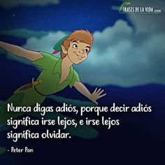 Find images and videos about disney, peter pan and neverland on We Heart It - the app to get lost in what you love. Disney Princess Quotes, Disney Movie Quotes, Disney Sayings, Frases Peter Pan, Phrase Disney, Best Disney Animated Movies, Frases Instagram, Oscar Winning Films, Walt Disney Animation Studios