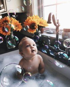 baby bath Ideas For Baby Bath Time Quote - baby So Cute Baby, Baby Kind, Cute Kids, Cute Babies, Funny Kids, Cute Toddlers, Babies Stuff, Photo Bb, Baby Bath Time