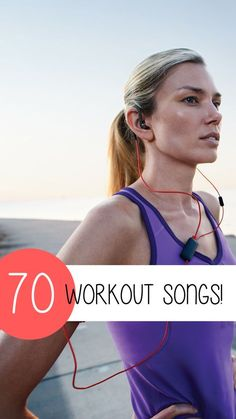 Check out these amazing workout songs! There's nothing more motivating than having the ultimate workout playlist. Below we have listed 70 songs – some new and some old – that will get you off the couch and into the gym!