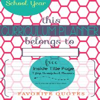7 Step Homeschool Pl