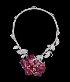 kingofcouture:    Dior Haute Joaillerie - Le Bal des Roses - necklace Bal de l'Opéra