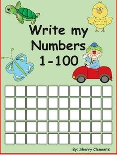 Write Numbers 1-100 This packet includes the following 2 packets:Write Numbers 1-20 (find patterns)Write Numbers 1-50 (find patterns)This product includes 32 pages of number writing and allows students to find the patterns (even, odd, 3's, 4s, 5s, 6s 7s, 8s, 9s, 10s 11s, and 12s .-- $