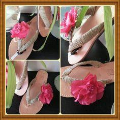 Handmade sandals!!!