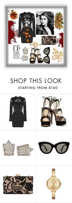 """""""Ynallection good to be back 😊"""" by pearlwatanabe ❤ liked on Polyvore featuring Balmain, Victoria Beckham, Love Moschino and Michael Kors"""
