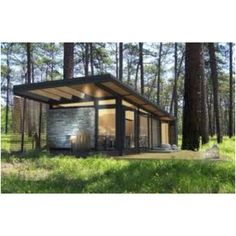 find this pin and more on retirement dream homes - Prefab Modern Cabin