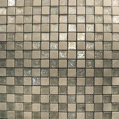This stunning Grid combination of White and Stained Glass gives any room a modern and contemporary ambiance. Imagine this tile as a backsplash in your kitchen. Glass Mosaic Tiles, Wall Tiles, Gold Kitchen, Fireplace Surrounds, Kitchen Backsplash, Iridescent, Stained Glass, Tile Floor, Home Improvement