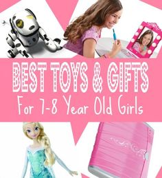 Browse through best gifts for 7 year old girls! Check out great ideas and age appropriate toys that are safe to play with.