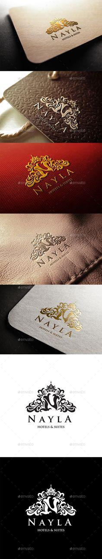 Nayla Hotels Logo Template #design Download: http://graphicriver.net/item/nayla-hotels-logo/11300904?ref=ksioks