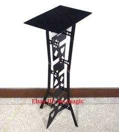 BLACK+Appearing+METAL+PRO+Folding+Table+Magic+Close+Up+Party+Stage+Accessories+