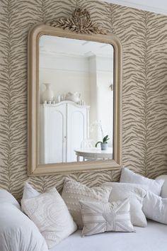 Wall Stencil | Tiger Stripes Pattern Stencil | Royal Design Studio