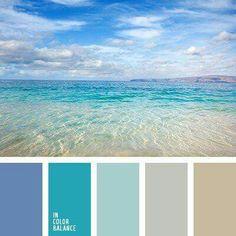 Color Palette No. 1980 Color Palette No. Colour Pallette, Colour Schemes, Ocean Color Palette, Color Combos, Beach Color Schemes, Silver Color Palette, Neutral Palette, Paint Schemes, Decoration Palette