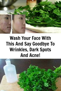 In this article, we're going to present you a homemade lotion made of parsley leaves and lemon (or apple cider vinegar)! This refreshing lotion will help you whiten your skin and clean your face from dark spots and acne and your skin will be healthy and shiny again!