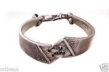 vintage-designer-bracelet-sterling-silver-design-bangle-spoon-signed-jewelry