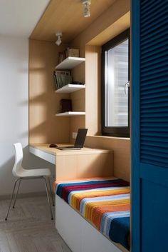 Small Bedroom Interior, Room Design Bedroom, Bedroom Furniture Design, Home Room Design, Home Office Design, Home Decor Furniture, Home Decor Bedroom, Home Interior Design, Small Room Furniture