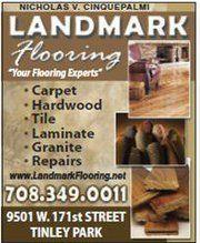 Landmark Flooring, Tinley Park, Il.  708-349-0011