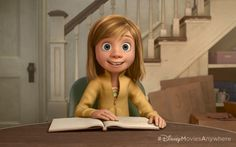 Take a look Behind-The-Scenes of Pixar's 'Inside Out' - First Look At Riley  http://www.pixarpost.com/2014/08/insideoutbehindthescenes.html
