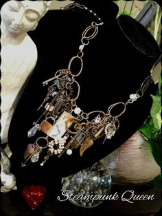Steampunk Queen~ by Sweet Treats Jewelry~