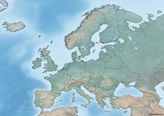 World Map Europe, Topographic Map, Continents, Mountains, Travel, Viajes, Destinations, Traveling, Trips