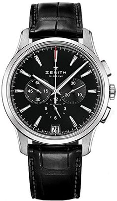 awesome Zenith Captain Chronograph Men's Automatic Watch 03-2110-400-22-C493 just added...