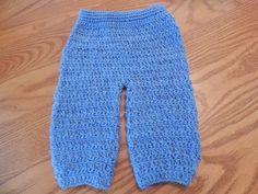 Pantalon para Bebe Crochet - YouTube