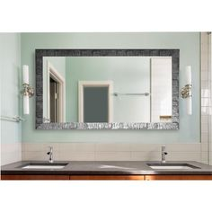 Found it at Wayfair - Safari Double Vanity Wall Mirror