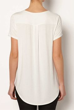 Tops | Women's tanks, lace camis, T Shirts & more| Witchery Online - Short Sleeve Split Hem Tee