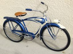 1954 Schwinn Streamliner 2 - OMG my brother's bike.  Nothing like having a Schwinn and they were made in Chi-town