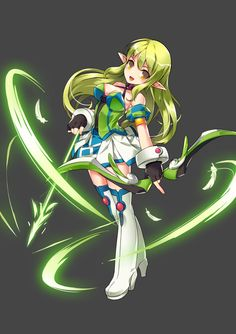 Lekistation — [Elsword]New Character Illustrations From official...