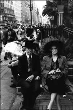 Henri Cartier-Bresson - Los Angeles. 1947.