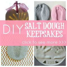 DIY: Salt Dough Keepsakes | Disney Baby