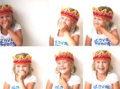 crochet birthday crown http://jorineathome.blogspot.nl/
