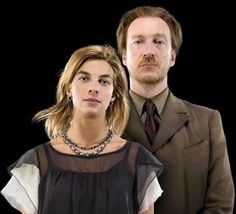 The Harry Potter Wall Art official site has updated with a new addition: a promo image of Remus Lupin and Nymphadora Tonks wearing their dress robes Harry Potter Gif, Tonks Harry Potter, Images Harry Potter, Harry Potter World, Harry Potter Characters, Harry Potter Hogwarts, Tonks And Lupin, Remus Lupin Son, Natalia Tena