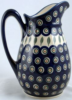 Polish Pottery, Handmade Polish Pottery, Teapots and Mugs