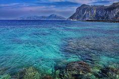Island of Capri shore