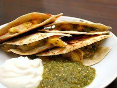 Acorn Squash Quesadillas- must try this!