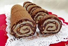 Retete Culinare - Rulada de biscuiti cu nuca de cocos
