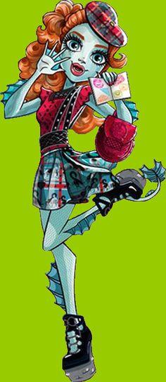 Monster High Monster Exchange Lorna McNessie Artwork