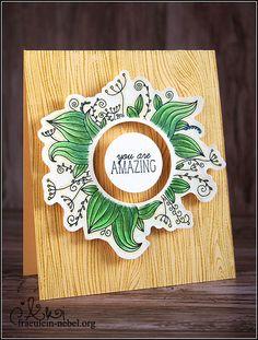 "Karte ""you are amazing"" mit Create a Smile und Faber Castell | fraeulein-nebel.org"