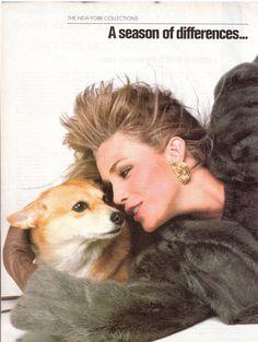 "US Vogue September 1981 ""A Season of Differences..."" 01PhotoBillKingModelsAnnetteStaiKellyLeBrockKellyEmbergRosemaryMcGrothaHairHarryKingMakeupWayBandySourceCH.jpg~original 771×1,024 pixels"