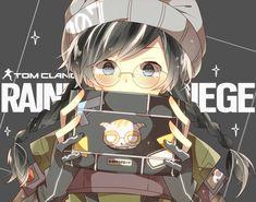 Tom Clancy's Rainbow Six, Rainbow Six Siege Dokkaebi, Rainbow 6 Seige, Rainbow Art, Anime Oc, Anime Demon, Kawaii Anime, R6 Wallpaper, Video Game Art
