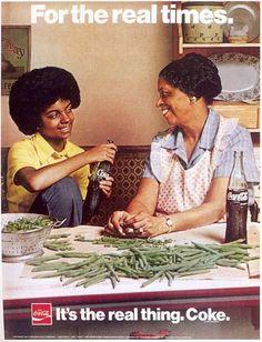 1970s food advertising | Coca-Cola ad, 1974 ,