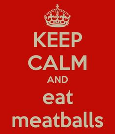 Haha...because I'm no carbing it & in love with turkey meatballs right now!