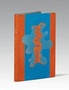 APOLLINAIRE (Guillaume)  Couleur du temps. Drame en trois actes et un vers. Paris, Éditions du Bélier, 1949.  BINDING: P.-L. Martin