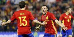 @RFEF Juan Mata y Santi Cazorla #9ine