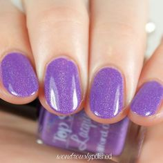Top Shelf Lacquer: Lavender Margarita