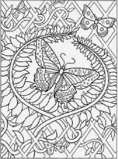 interactive adult coloring pages - Google Search
