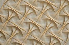 This Week in Origami, Zerg Rush Edition Origami Artist, Origami Paper Art, Star Designs, Geometric Designs, Origami Installation, Tessellation Patterns, Tesselations, Origami Models, Paper Light