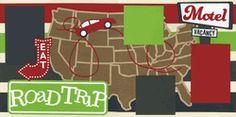 Road Trip Page Kit